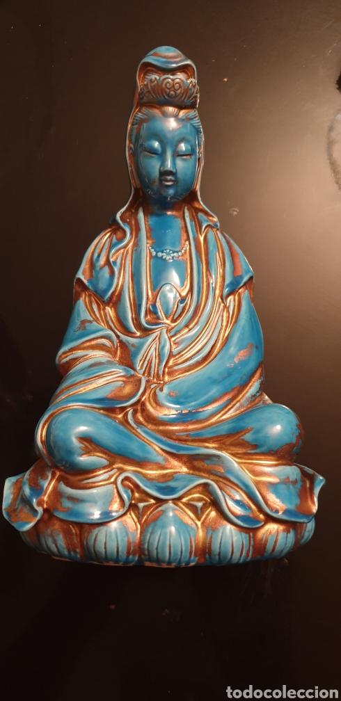 IMAGEN ORIENTAL DE PORCELANA (Antigüedades - Porcelanas y Cerámicas - China)