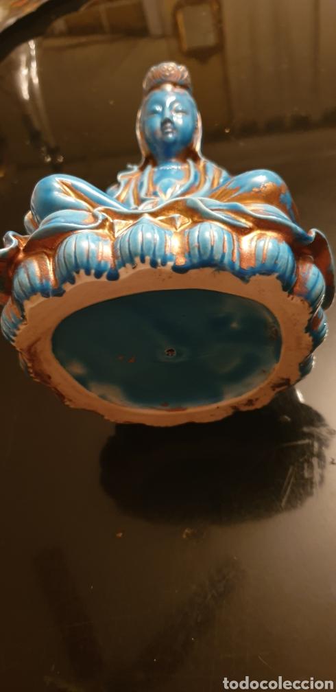 Antigüedades: Imagen oriental de porcelana - Foto 3 - 211660274