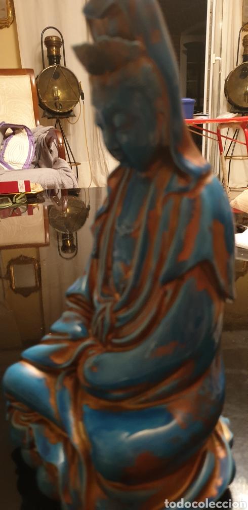 Antigüedades: Imagen oriental de porcelana - Foto 9 - 211660274