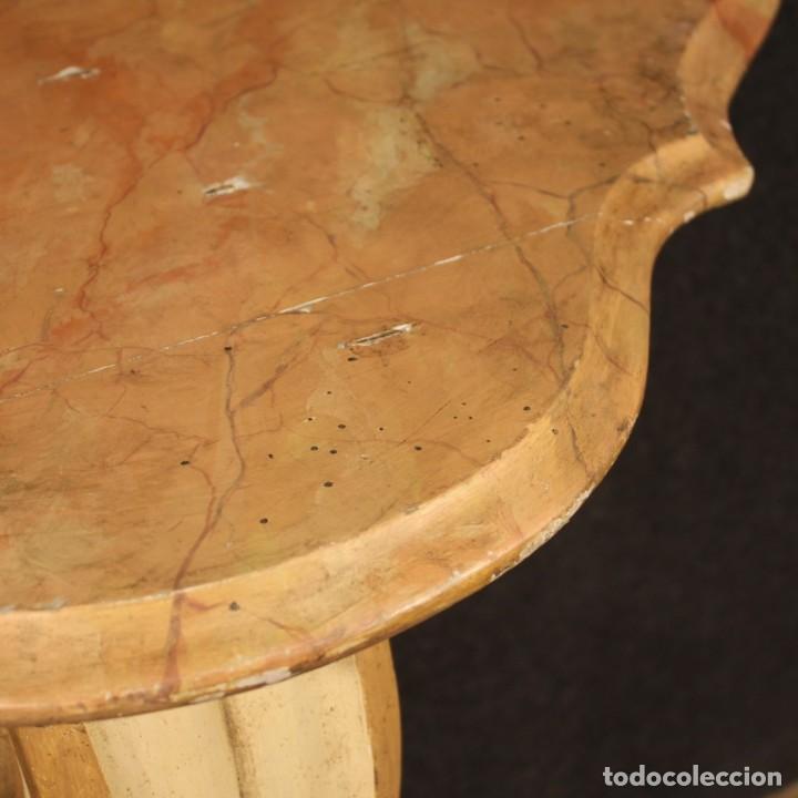 Antigüedades: Consola italiana lacada y pintada - Foto 7 - 211662741
