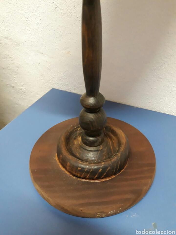 Antigüedades: Antiguo espejo de tocador o sobre mesa , - Foto 4 - 211663269
