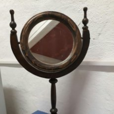 Antigüedades: ANTIGUO ESPEJO DE TOCADOR O SOBRE MESA ,. Lote 211663269