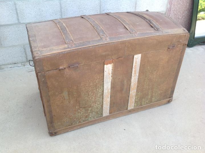Antigüedades: ANTIGUO BAÚL MUY GRANDE - Foto 3 - 211672741