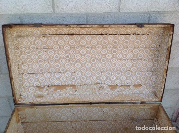 Antigüedades: ANTIGUO BAÚL MUY GRANDE - Foto 7 - 211672741