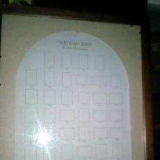 Antigüedades: MARCO CON CRISTAL 68X50 CM. CON PASPARTÚ SEGÚN FOTOS. Lote 211675389