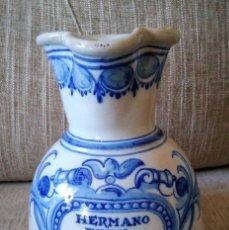 Antigüedades: ANTIGUA JARRA DE CERÁMICA DE TALAVERA. Lote 211677851