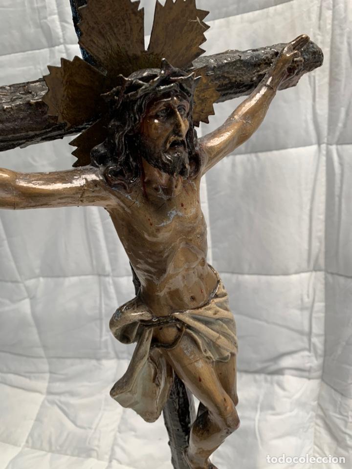 Antigüedades: Antiguo Cristo crucificado Olot - Foto 4 - 211678871