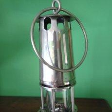 Antiguidades: ANTIGUA LAMPARA DE MINERO. Lote 211689050