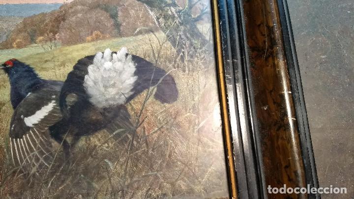 Antigüedades: Pareja de marcos antiguos de madera con cristal - Foto 16 - 211692720