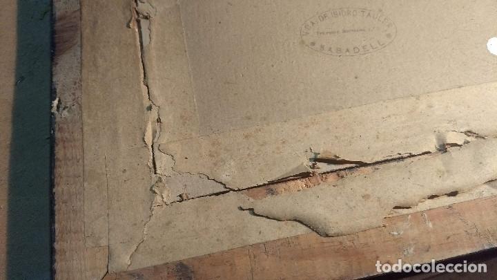 Antigüedades: Pareja de marcos antiguos de madera con cristal - Foto 26 - 211692720
