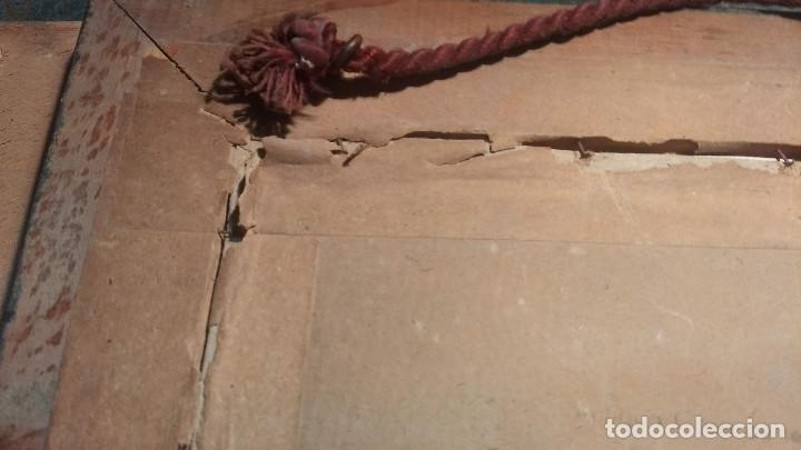 Antigüedades: Pareja de marcos antiguos de madera con cristal - Foto 29 - 211692720