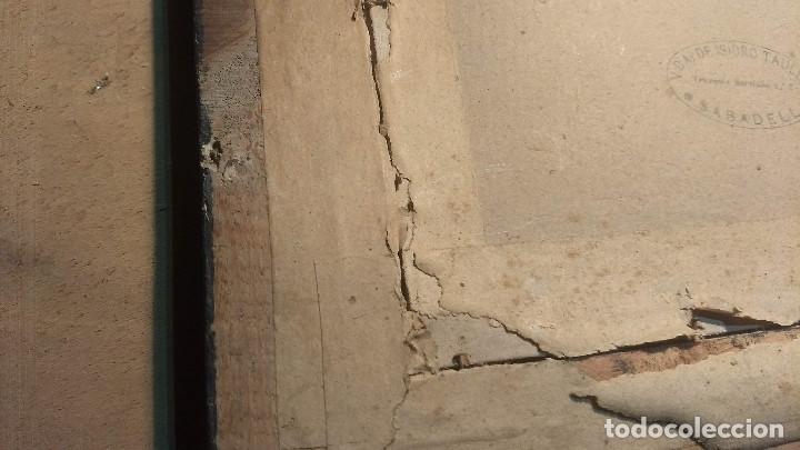 Antigüedades: Pareja de marcos antiguos de madera con cristal - Foto 30 - 211692720