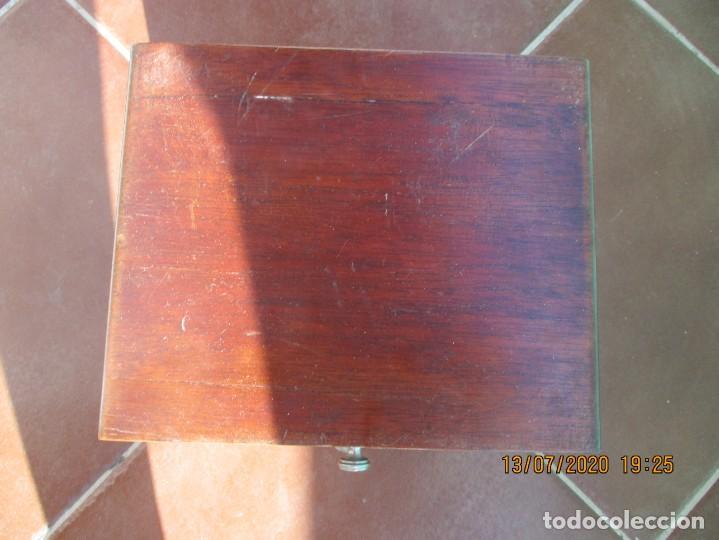 Antigüedades: CAJONERA. PARA JOYAS. 5 CAJONES DE MADERA NOBLE. 21 X 20 X 17 CMS. ANTIGUO Y EN BUEN ESTADO - Foto 7 - 211697573