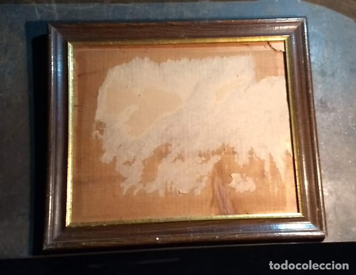 Antigüedades: Marco madera, barniz craquelado - Foto 18 - 211699403