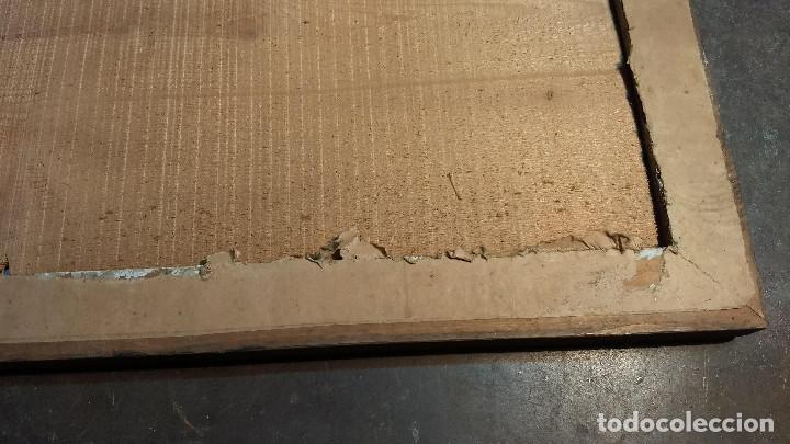 Antigüedades: Marco madera, barniz craquelado - Foto 12 - 211699403