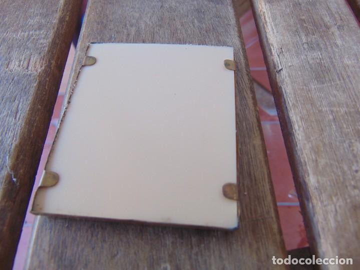 Antigüedades: PEQUEÑO ICONO EN METAL Y PLASTICO RUSO ?? - Foto 4 - 211700708