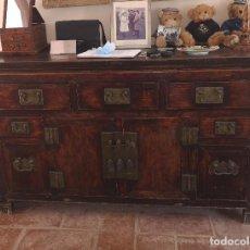 Antigüedades: MUEBLE ORIENTAL CHINO ANTIGUO MADERA. Lote 211704188