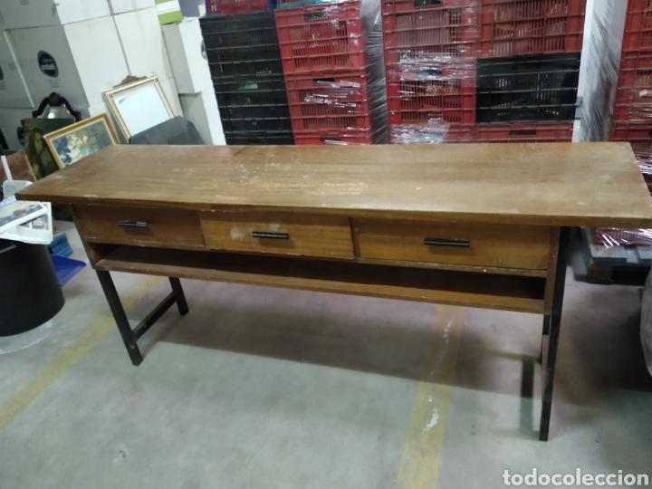 Antigüedades: Mueble tipo mostrador , recibidor , tocador , maquillaje - Foto 9 - 211723818