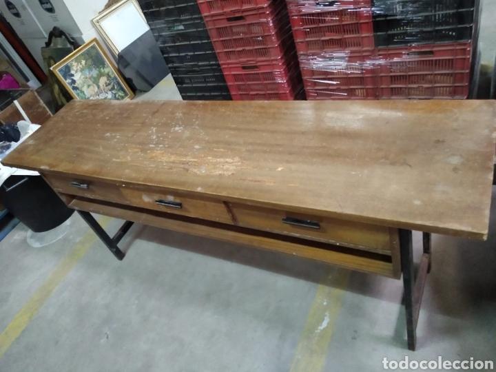 Antigüedades: Mueble tipo mostrador , recibidor , tocador , maquillaje - Foto 10 - 211723818