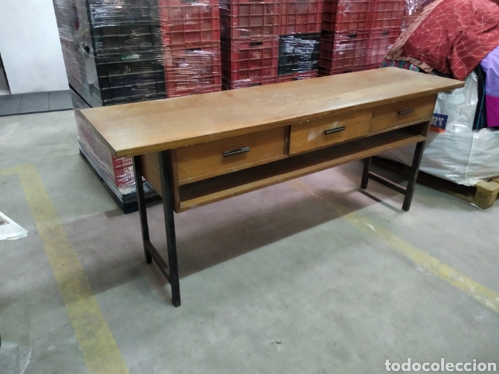 Antigüedades: Mueble tipo mostrador , recibidor , tocador , maquillaje - Foto 11 - 211723818