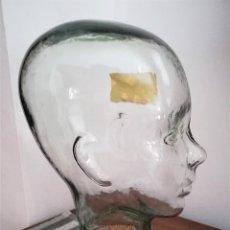 Antigüedades: MAGNÍFICA BOMBONERA ART DECÓ ROSTRO HUMANO (INFANTIL) FINALES SXX. Lote 211734503