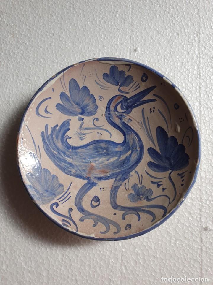 PLATO CERAMICA CON SELLO (Antigüedades - Porcelanas y Cerámicas - Otras)