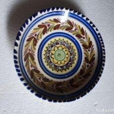 Antigüedades: PLATO DE CERAMICA FIRMADO. Lote 211736819