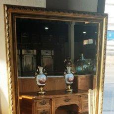 Antigüedades: ESPEJO PAN DE ORO. Lote 211757002