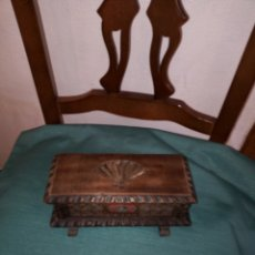 Antigüedades: ANTIGUA ARQUITA DE MADERA. TRABAJO ARTESANAL. Lote 211759327