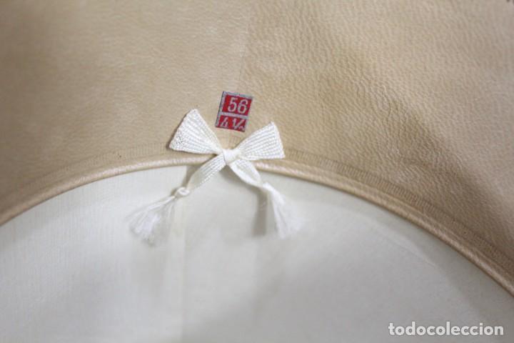 Antigüedades: Chistera de piel de foca, sombrero fines s XIX Gasol Barcelona - Foto 8 - 211777160