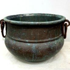 Antigüedades: OLLA DE COBRE. Lote 211781818