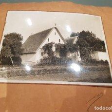 Antigüedades: FOTO FIRMADA FOTÓGRAFO J.FURIO,BARRACA VALENCIANA.. Lote 211801197