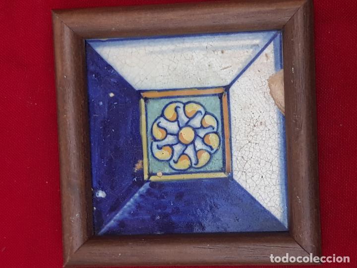 Antigüedades: AZULEJO ANTIGUO DE TALAVERA / TOLEDO - RENACIMIENTO - SIGLO XVI - - Foto 2 - 211812092