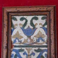 Antigüedades: AZULEJO ANTIGUO DE TOLEDO - ARISTA - RENACIMIENTO - SIGLO XVI -. Lote 211814237