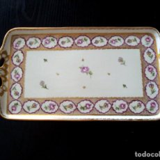 Antigüedades: ANTIGUA BANDEJA DE PORCELANA ALEMANA HK .. Lote 211868490