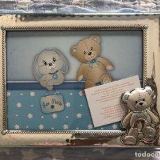 Antigüedades: PORTAFOTOS INFANTIL SIN ESTRENAR. Lote 211870522