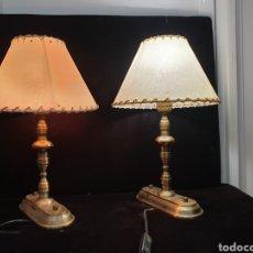 Antigüedades: PAREJA DE LAMPARAS DE NOCHE. Lote 211873460