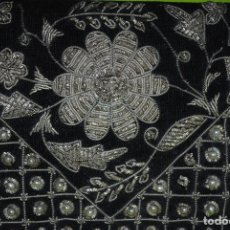 Antigüedades: BOLSO BORDADO FLOR. Lote 211876920