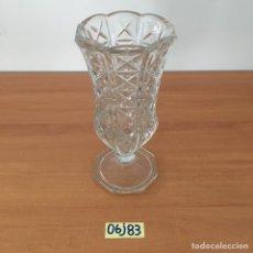 Antigüedades: FLORERO DE CRISTAL. Lote 211894293