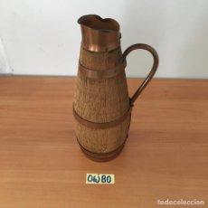 Antigüedades: JARRA EN FORMA DE BARRIL. Lote 211898206