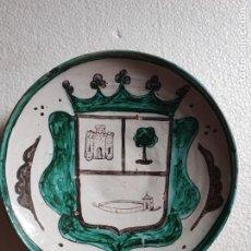 Antigüedades: PLATO DE CERAMICA DE TERUEL. Lote 211940693