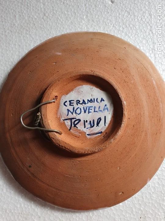 Antigüedades: PLATO DE CERAMICA DE TERUEL - Foto 2 - 211940693