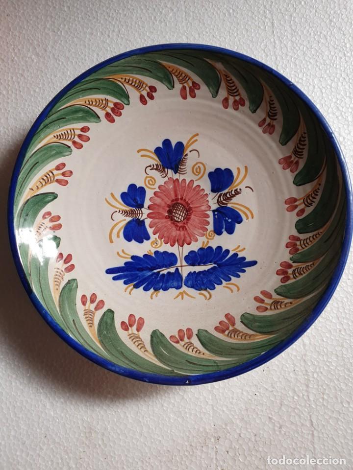 PLATO CERAMICA (Antigüedades - Porcelanas y Cerámicas - Otras)