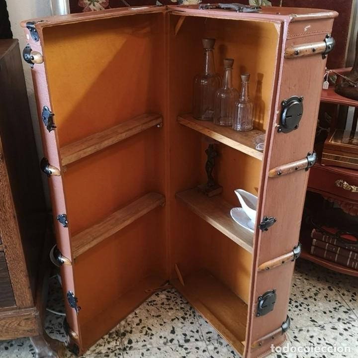 BAÚL DE VIAJE (Antigüedades - Muebles Antiguos - Baúles Antiguos)