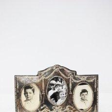 Antigüedades: PORTAFOTOS ANTIGUO PLATA DE LEY. Lote 211957032