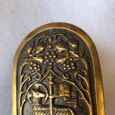 Antigüedades: ANTIGUA PILA BENDITERA CORDERO DE DIOS. Lote 211980600
