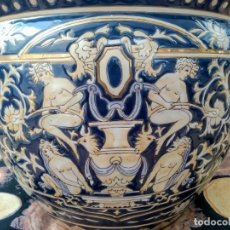Antigüedades: JARRÓN GRANDE, MACETERO EXCLUSIVO, HECHO A MANO.. Lote 211983968