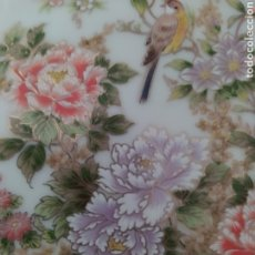 Antigüedades: PAREJA DE PLATOS FUJI JAPAN. Lote 211985052