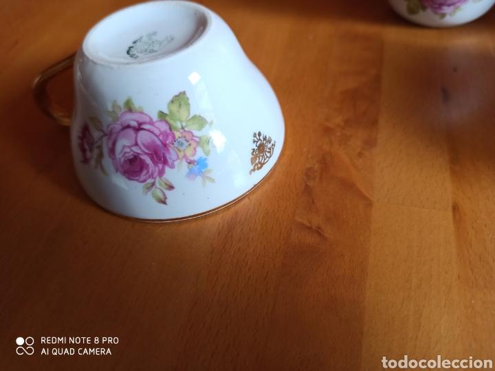 Antigüedades: Juego de cafe Santa Clara, tiene 70 años - Foto 3 - 211993865