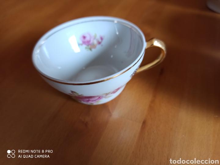 Antigüedades: Juego de cafe Santa Clara, tiene 70 años - Foto 4 - 211993865